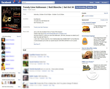 facebook events example